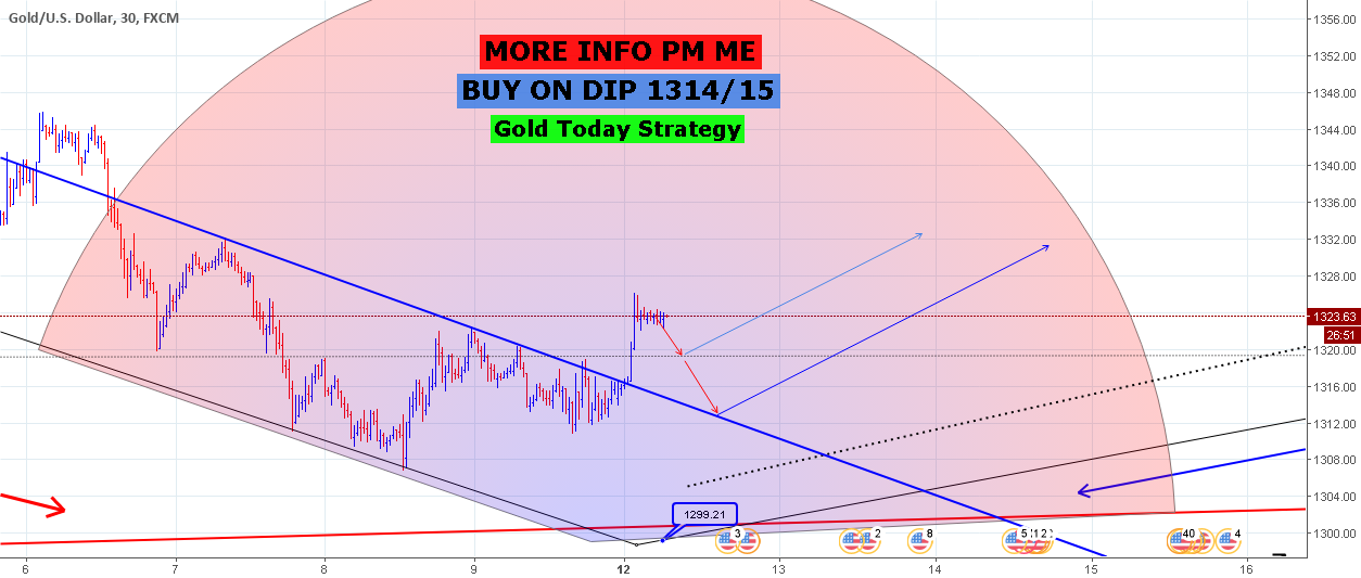 Gold Today Strategy : Buy on DIP 1314/15