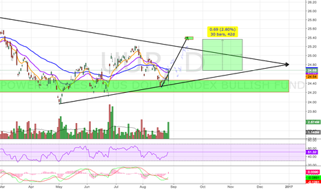 UUP: Potential Bullish Consolidation Pattern