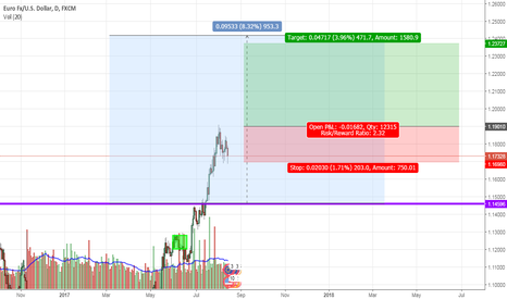 EURUSD: If we break the 1.19 with high volume.