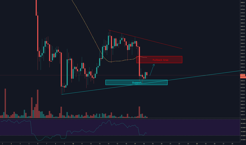 BTCUSD: Bitcoin | Possible Pullback Coming Up