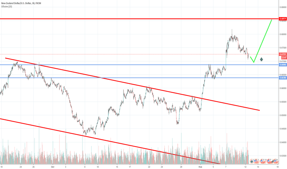 NZDUSD: NZD/USD: курс может укрепиться на этой неделе