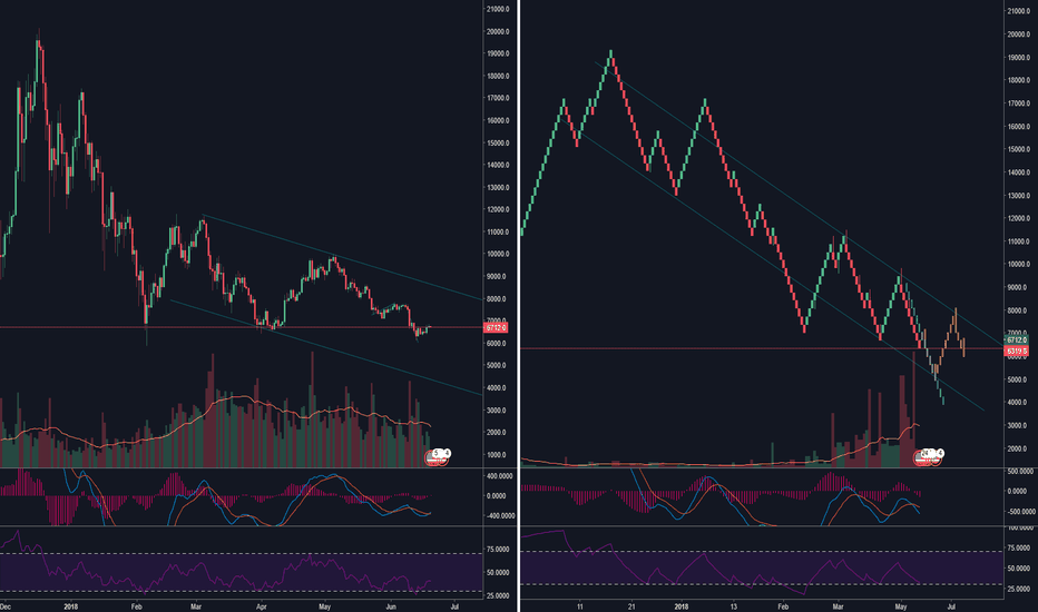XBTUSD: BTC/USD Daily Candles & Renko