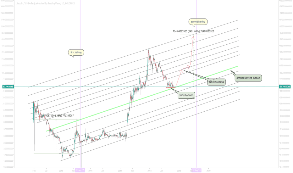 LTCUSD: LTC/USD potential 1400%