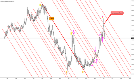 USDCAD: USDCAD - Pure Action/Reaction Chart