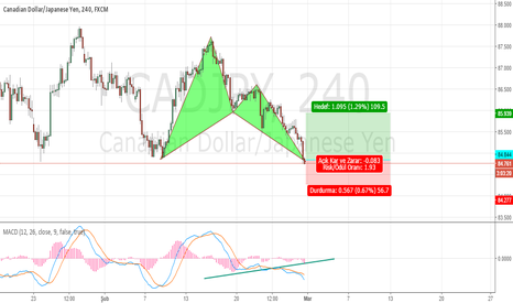 CADJPY: CADJPY Bullish Bat Pattern