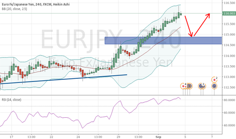 EURJPY: EURJPY move to the upside, but momentum is fading