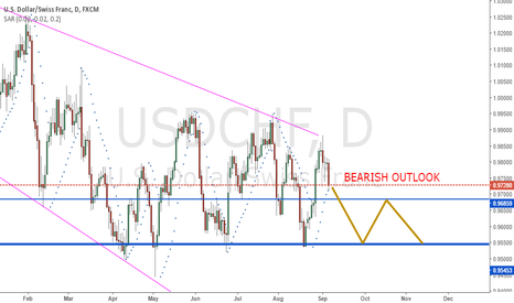 USDCHF: USDSHF fall and possible pullback