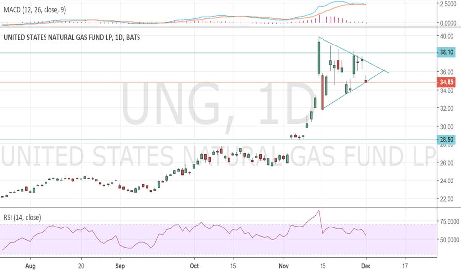 UNG: $UNG Bull Flag?