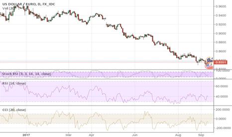 USDEUR: It's Time to Buy Euro