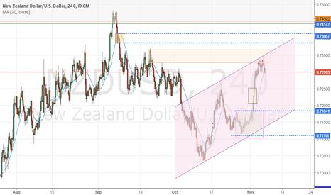 NZDUSD: NZD/USD short and long