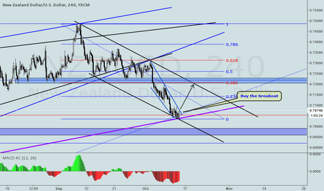 NZDUSD: NZDUSD LONG TRADE IDEA ON H4
