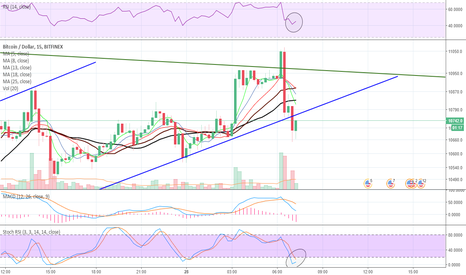 BTCUSD: BTCUSDT just dumped and took your coins for a further advance