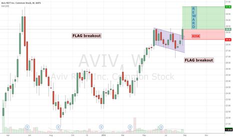AVIV: 20140901 AVIV - Flag breakout