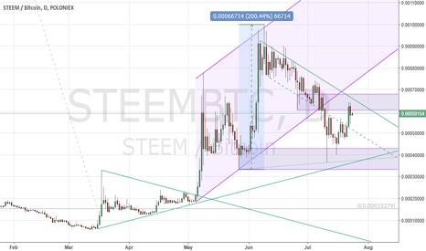 STEEMBTC: Steem finding bids against Bitcoin