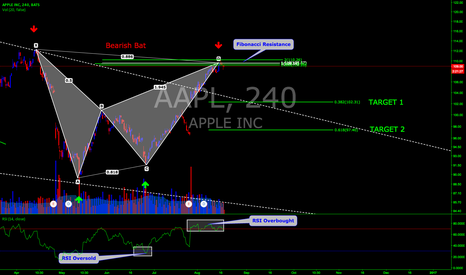 AAPL: APPLE BEARISH BAT