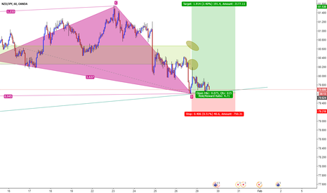 NZDJPY: Bullish Shark on NZDJPY 1H