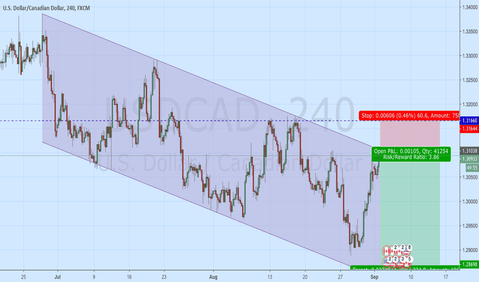 USDCAD: USD/CAD Sell, Top Channel/Trendline