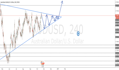 AUDUSD: Newbie Idea for AUDUSD any tips welcome!