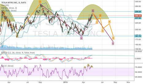 TSLA: Potential Tesla H+S
