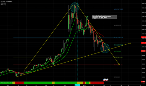 BTCUSD: Bitcoin testing main support