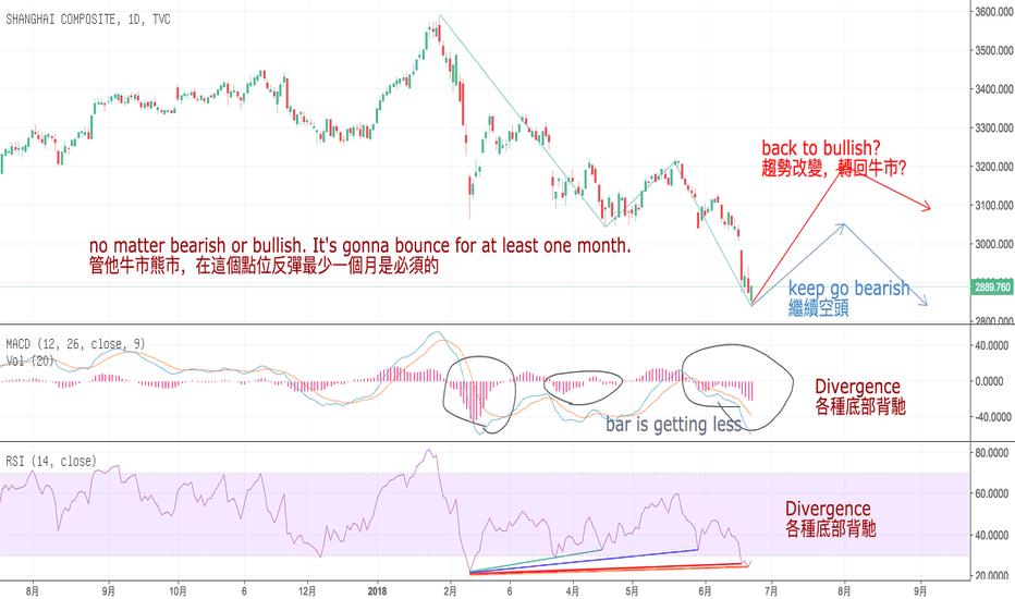SHCOMP: 中国股市将反弹一个月?