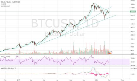 BTCUSD: $BTC.X Log Scale view of the trend.