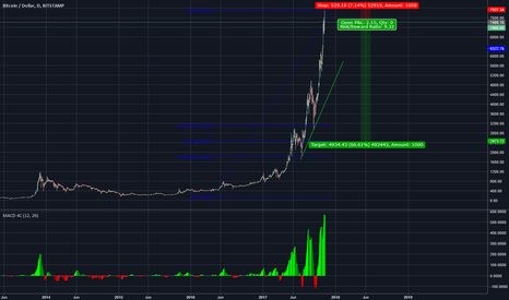 BTCUSD: This is the top
