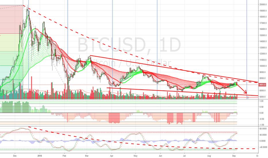 BTCUSD: Bitcoin Bottom Is Coming $BTC