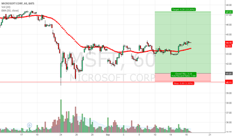 MSFT: Vertical on MSFT