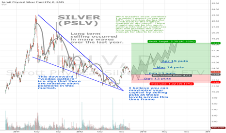 PSLV: Silver setting up a long term buy signal