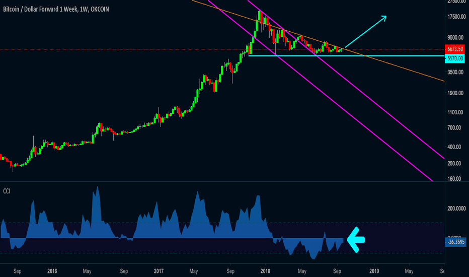 BTCUSD1W: BTC/USD Short momentum is weak