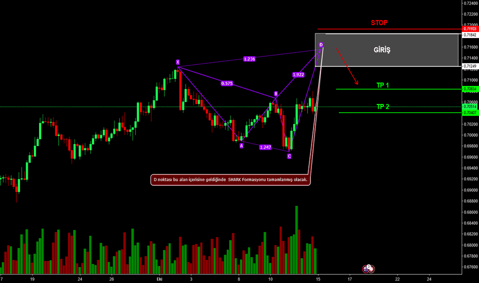 AUDCHF: AUDCHF BEARISH SHARK