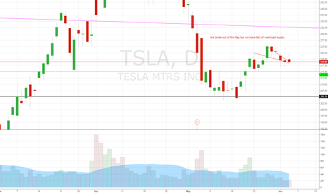 TSLA: I want to be long this
