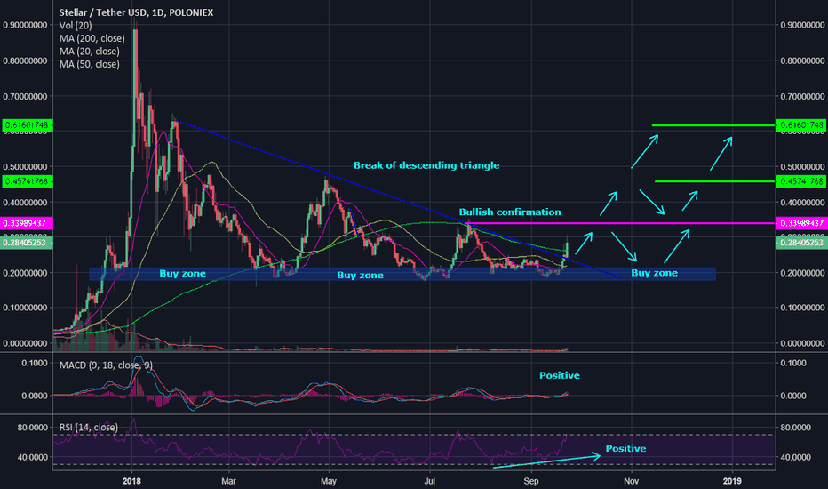 STRUSDT: Stellar Lumens (XLM) what to expect for long-term?