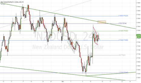 NZDUSD: Broken Flag has potential
