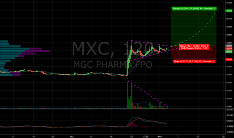 MXC: Potential pennant breakout on $MXC over coming days.
