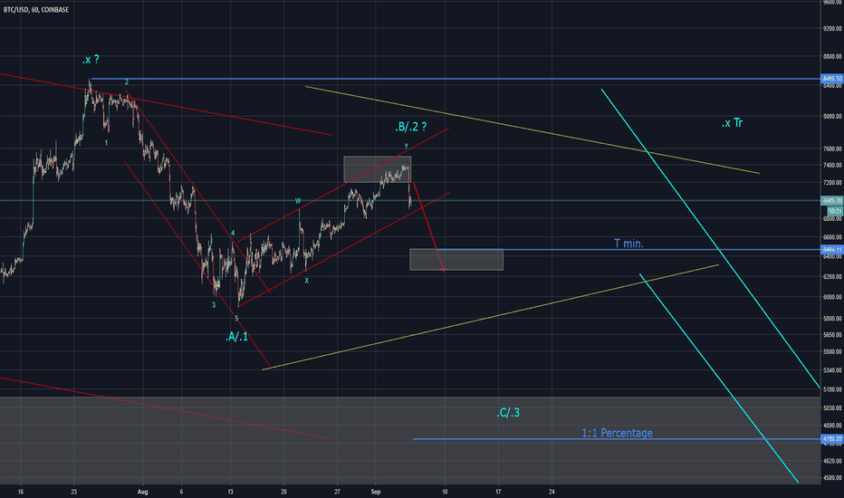 BTCUSD: BTC Expecting downmove (Elliott Wave)