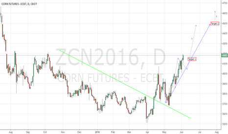 ZCN2016: Corn CBoT further developing as anticipated