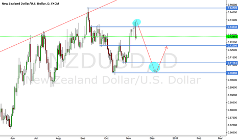 NZDUSD: NZDUSD SHORT THEN LONG