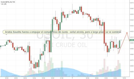 """USOIL: Arabia Saudita le recuerda a OPEC que es un """"juego de equipo"""""""