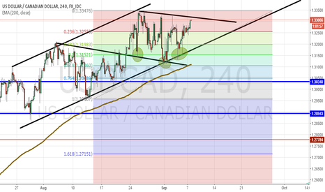 USDCAD: NZDUSD 4HR CONTINUATION STEUP