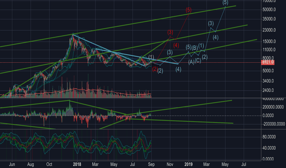 BTCUSD: Bitcoin wave / Bullish 8/2018