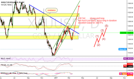 XAUUSD: Gold up to last years high