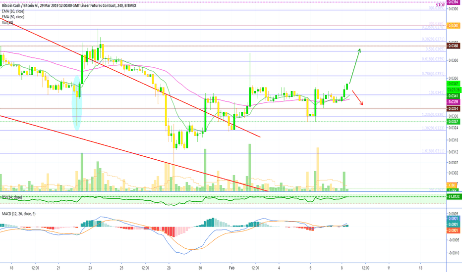 BCHH19: Bitcoin Cash (BCHH19) Is Likely To Move Up!