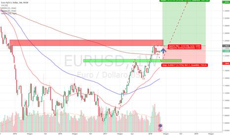 EURUSD: EUR/USD OPERAZIONE DI LUNGO TERMINE