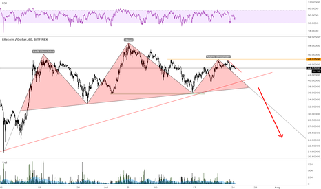 LTCUSD: LTC fall coming?