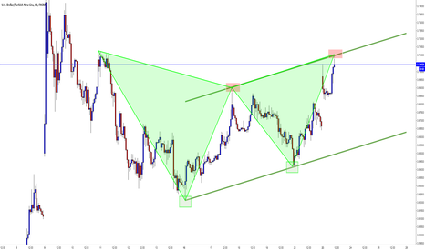 USDTRY: USDTRY / Bayrak / Gartley