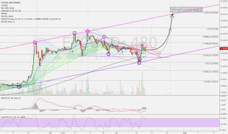 ETCUSD: ETCUSD 8h: Situation more clarified, up could be expected 28 USD