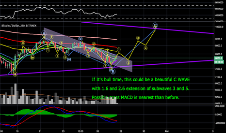 BTCUSD: IF BULL WITH C WAVE