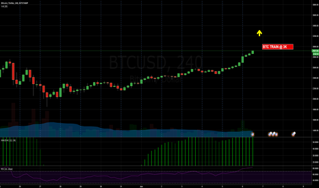 BTCUSD: New all time high for BTC testing 3K